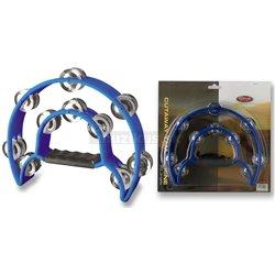 Stagg TAB-1 BL, tamburína dvojradová, modrá