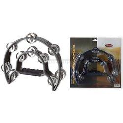 Stagg TAB-1 BK, tamburína dvojradová, čierna