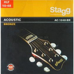 Stagg AC-1048-BR, sada strún