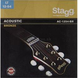 Stagg AC-1254-BR, sada strún