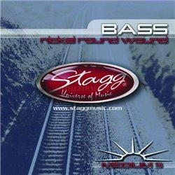 Stagg BA-4525-5S, sada strun