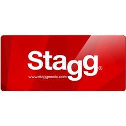 "Stagg NRW-080, struna ""A"" pro basu, nikl"