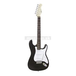 Dimavery ST-203, elektrická gitara, čierna