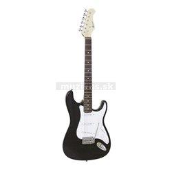Dimavery ST-203, elektrická kytara, černá