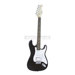 Dimavery ST-312, elektrická gitara, čierna