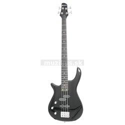 Dimavery SB-321 elektrická basgitara pre ľavákov, čierna