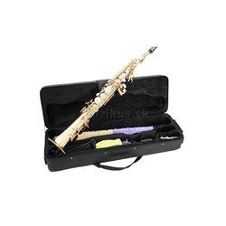 Dimavery SP-10 B soprán saxofón, rovný
