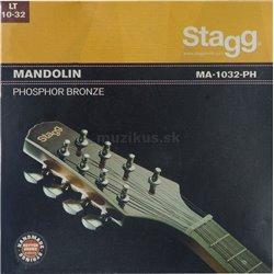 Stagg MA-1032-PH, sada strun pro mandolínu