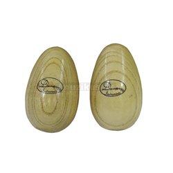 Dimavery shaker vajíčka, drevená