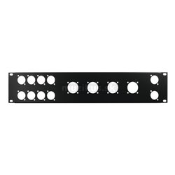 "Predný panel 19 ""pre 8x D-Type/4xNL8/T, 2HE"