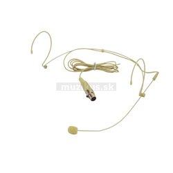 Omnitronic HS-1100 XLR, hlavový mikrofón mini XLR