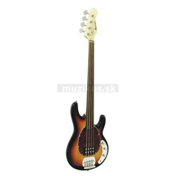 Dimavery MM-501 E-Bass, Fretless, bezpražcová basgitara