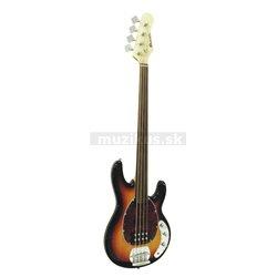 Dimavery MM-501 E-Bass, Fretless, bezpražcová baskytara