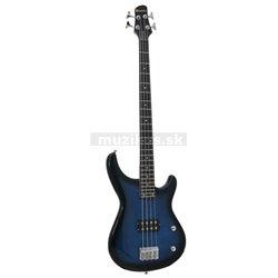 Dimavery SB-201 elektrická basgitara, modrá