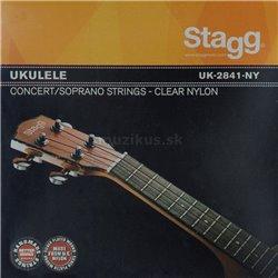 Stagg UK-2841-NY, sada strún pre ukulele