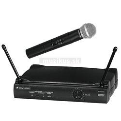Omnitronic VHF-250 214.00 MHz, bezdrôtový mikrofónny set VHF