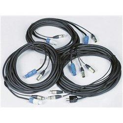 Verse špeciálny kábel 398, Sub/Sat, 230V/XLR