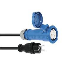 PSSO kabel s redukcí CEEK, 250 V, 16 A, 3x1,5 mm2, 1,5 m