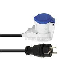 PSSO kábel s redukciou WCEK25, 250 V, 16 A, 3x2,5 mm2, 1,5 m