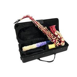 Dimavery SP-30 Es alt saxofón, červený