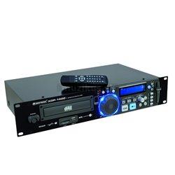 """Omnitronic XDP-1400, prehrávač CD/MP3/USB/SD, 19 """""""