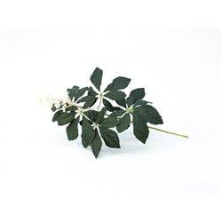 Vetva gaštanu s púčikmi, zelená, 60 cm