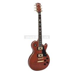 Dimavery LP-700 elektrická gitara, medová s vysokým leskom