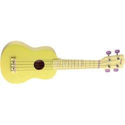 Stagg US, lemon, sopránovej ukulele, žlté