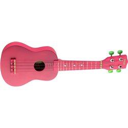 Stagg US, lips, sopránové ukulele, červené