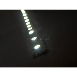 LED páska SMD3528, studená biela, 12V, 1m, 60 LED/m