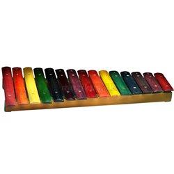 Stagg XYLO-J15 RB, xylofón, 15 farebných kameňov