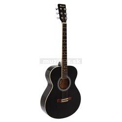 Dimavery AW-303 westernová gitara, čierna