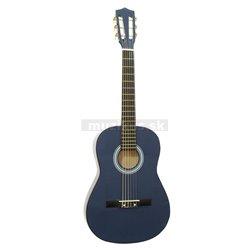 Dimavery AC-303 klasická gitara 3/4, modrá