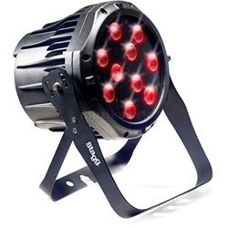 Stagg LED PAR 10x8W QCL, čierny