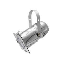 Eurolite LED PAR-30 COB reflektor RGB 30W, strieborný