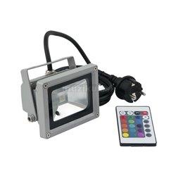 Eurolite LED IP FL-10 COB RGB 120 ° s diaľkovým ovládačom