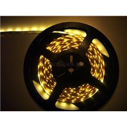 LED páska SMD3528, teplá biela, 12V, 1m, 120 LED/m
