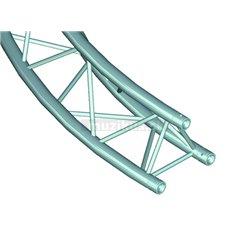 Trilock E-GL33 kruhový diel 2m, vonkajšia, 90 °, vrcholom nahor