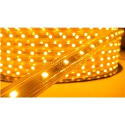 LED páska SMD 3528, teplá biela, AC220V, 1m, 60 LED/m, IP65