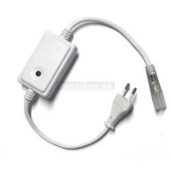 eLite jednoduchý ovládač pre LED svietiace pásiky, AC220V, RGB