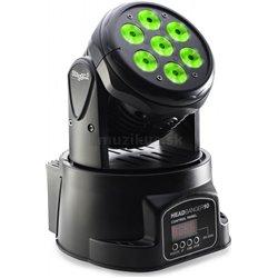 Stagg LED otočná hlavica 7x10 QCL, DMX