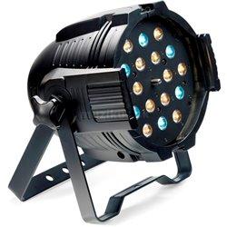 Stagg LED PAR MLZ-18x3W studená/teplá bílá, černý