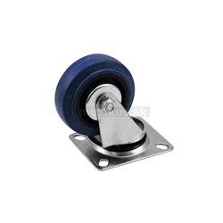Otočné kolečko 75mm, modré