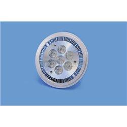 PAR 36 12V 7x1W LED AR111 Omnilux teplá biela