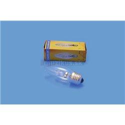 230V/28W E-27 Omnilux sviečková žiarovka číra