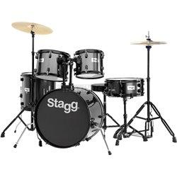 Stagg TIM120B BK, bicie sada, čierna