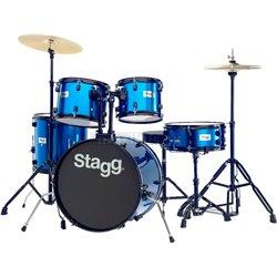 Stagg TIM120B BL, bicie sada, modrá