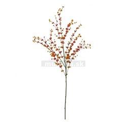 Eukalypt větvička, oranžová, 110cm