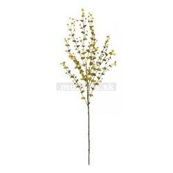 Eukalyptus vetvička, zeleno-žltá, 110cm