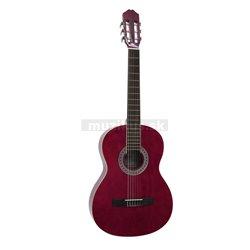 Dimavery AC-303 klasická gitara, červená